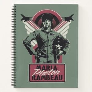 Captain Marvel | Maria Photon Rambeau Notebook