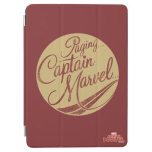 Captain Marvel | Paging Captain Marvel Emblem iPad Air Cover