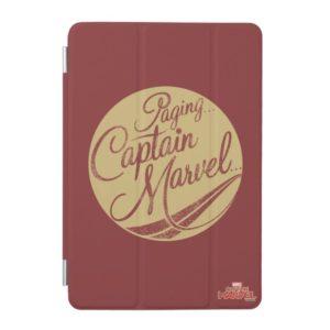 Captain Marvel | Paging Captain Marvel Emblem iPad Mini Cover