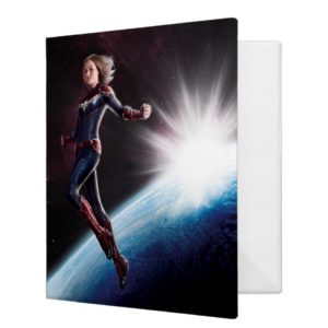 Captain Marvel | Protecting The Planet 3 Ring Binder