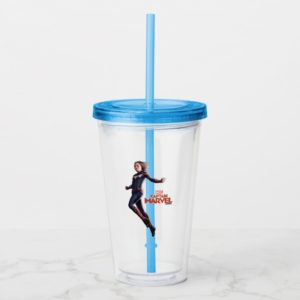 Captain Marvel | Protecting The Planet Acrylic Tumbler