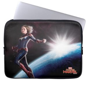 Captain Marvel | Protecting The Planet Computer Sleeve