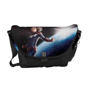 Captain Marvel | Protecting The Planet Courier Bag