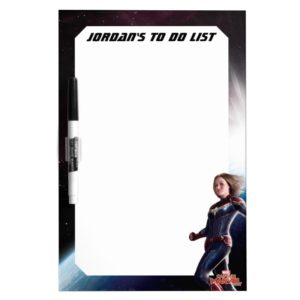 Captain Marvel | Protecting The Planet Dry Erase Board