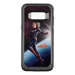 Captain Marvel   Protecting The Planet OtterBox Commuter Samsung Galaxy S8 Case