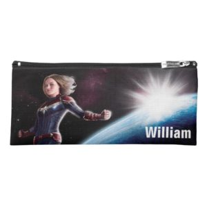 Captain Marvel | Protecting The Planet Pencil Case
