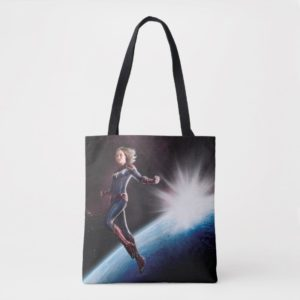 Captain Marvel | Protecting The Planet Tote Bag
