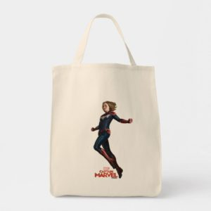 Captain Marvel   Protecting The Planet Tote Bag