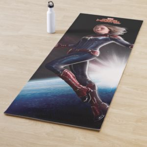 Captain Marvel | Protecting The Planet Yoga Mat