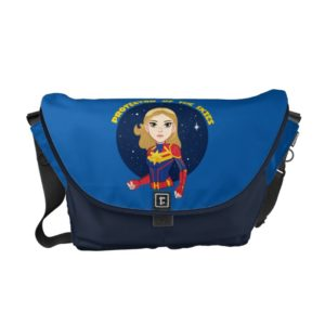 Captain Marvel | Protector Of The Skies Cartoon Courier Bag