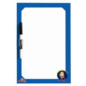 Captain Marvel   Protector Of The Skies Cartoon Dry Erase Board