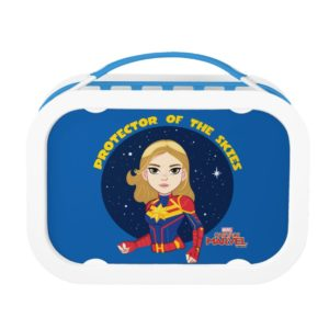 Captain Marvel   Protector Of The Skies Cartoon Lunch Box