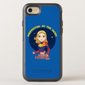 Captain Marvel | Protector Of The Skies Cartoon OtterBox iPhone Case
