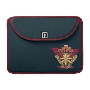 Captain Marvel | Protector Of The Skies Star Badge MacBook Pro Sleeve