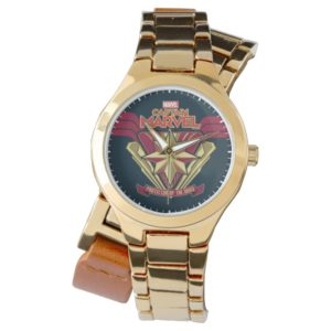 Captain Marvel | Protector Of The Skies Star Badge Watch