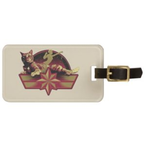 Captain Marvel | Reclining Goose Badge Bag Tag