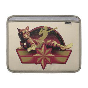 Captain Marvel | Reclining Goose Badge MacBook Air Sleeve
