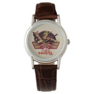 Captain Marvel   Reclining Goose Badge Watch