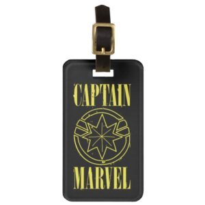Captain Marvel | Retro Captain Marvel Logo Bag Tag