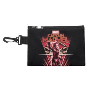 Captain Marvel | Shining Captain Marvel Badge Accessory Bag