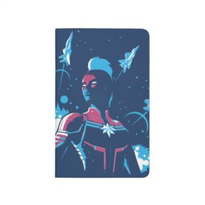 Captain Marvel | Silhouette Pose With Jets Journal