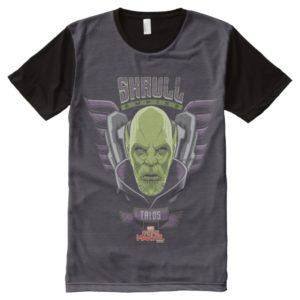 Captain Marvel | Skrull Empire Talos Graphic All-Over-Print Shirt