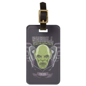 Captain Marvel | Skrull Empire Talos Graphic Bag Tag
