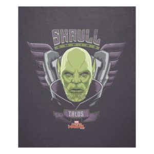 Captain Marvel | Skrull Empire Talos Graphic Fleece Blanket
