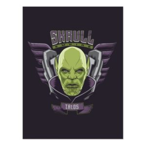 Captain Marvel | Skrull Empire Talos Graphic Postcard