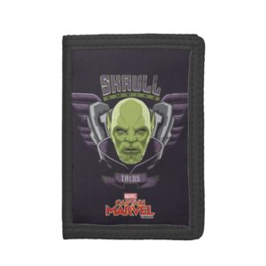 Captain Marvel | Skrull Empire Talos Graphic Trifold Wallet