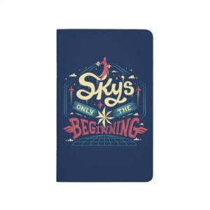 """Captain Marvel   """"Sky's Only The Beginning"""" Type Journal"""