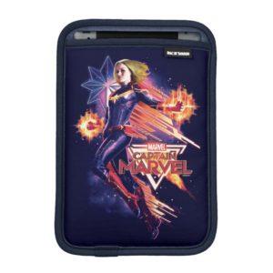 Captain Marvel | Sparkling Light Trail Graphic iPad Mini Sleeve