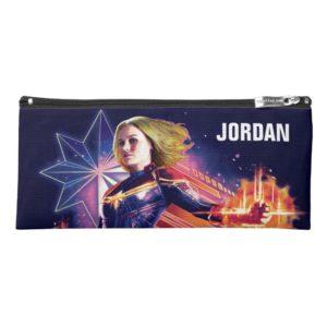 Captain Marvel | Sparkling Light Trail Graphic Pencil Case