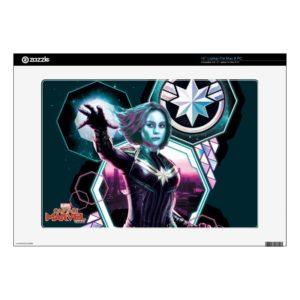 "Captain Marvel | Starforce Captain Marvel Graphic 15"" Laptop Decal"