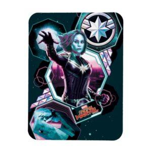Captain Marvel | Starforce Captain Marvel Graphic Magnet