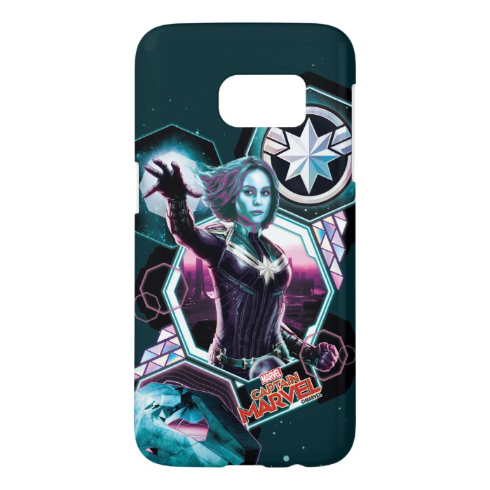 new style 64404 34ed2 Captain Marvel | Starforce Captain Marvel Graphic Samsung Galaxy S7 Case