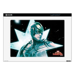 "Captain Marvel | Starforce Commander 15"" Laptop Decal"