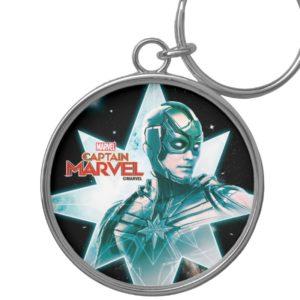 Captain Marvel   Starforce Commander Keychain