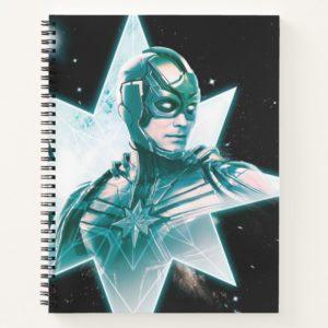 Captain Marvel   Starforce Commander Notebook