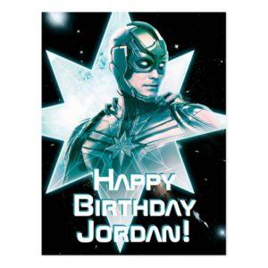 Captain Marvel   Starforce Commander Postcard