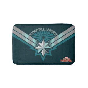 Captain Marvel | Starforce Warrior Star Embelm Bath Mat