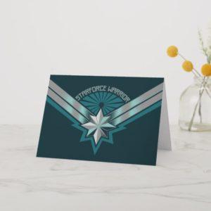 Captain Marvel   Starforce Warrior Star Embelm Card