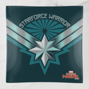 Captain Marvel | Starforce Warrior Star Embelm Trinket Trays