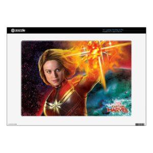 "Captain Marvel | Stellar Engery Hand Raised 15"" Laptop Decal"