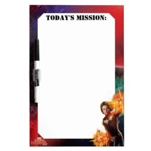 Captain Marvel | Stellar Engery Hand Raised Dry Erase Board