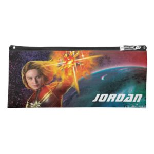 Captain Marvel | Stellar Engery Hand Raised Pencil Case
