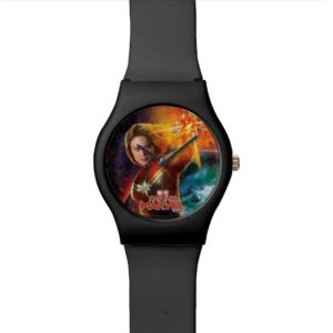 Captain Marvel | Stellar Engery Hand Raised Watch