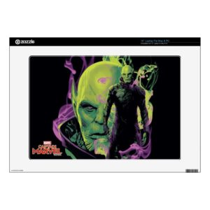 "Captain Marvel | Talos Smokey Character Graphic 15"" Laptop Decal"