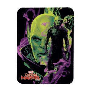 Captain Marvel | Talos Smokey Character Graphic Magnet