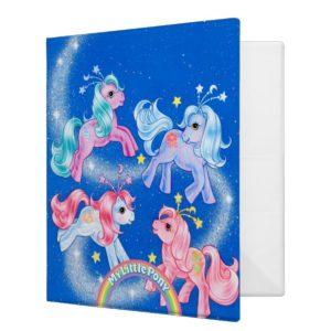 Celestial Ponies 3 Ring Binder
